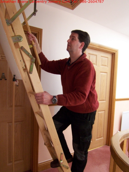 Attic Stairs Ladders Cork | Carpentry Joinery Ballincollig Cork