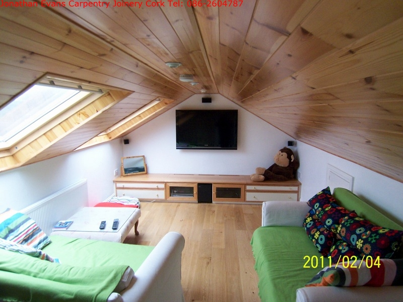 Attic Conversions Cork With Jonathan Evans Carpentry Joinery Tel:  086 2604787